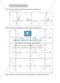 Aufgaben zur Darstellung und Berechnung linearer Funktionen Preview 2