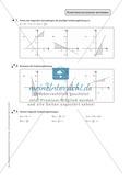 Aufgaben zur Darstellung und Berechnung linearer Funktionen Preview 3