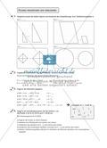 Aufgaben zu verschiedenen geometrischen Figuren Preview 1