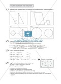 Mathematik, Geometrie, Zahlen & Operationen, Winkelsenkrechte, Mittelsenkrechte, Dreieck, geometrische Figuren, verkleinern, vergößern