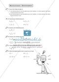 Bestimmung des Definitionsbereichs bei Bruchgleichungen Preview 1