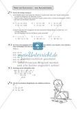 Mathematik, Zahlen & Operationen, Algebra, Terme, Gleichungen