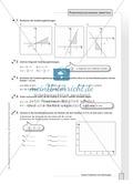 Aufgaben zur grafischen und rechnerischen Lösung von Gleichungssystemen Preview 1