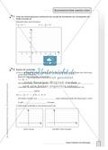 Aufgaben zur grafischen und rechnerischen Lösung von Gleichungssystemen Preview 3