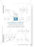 Aufgaben zur grafischen und rechnerischen Lösung von Gleichungssystemen Preview 5
