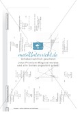 Aufgaben zur grafischen und rechnerischen Lösung von Gleichungssystemen Preview 6