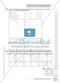 Aufgaben zur Normalparabel und Bestimmung der Funktionsgleichungen von Parabeln Preview 2