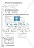 Aufgaben zur Normalparabel und Bestimmung der Funktionsgleichungen von Parabeln Preview 3