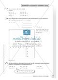 Übungen zu quadratischen Gleichungen Preview 1