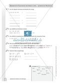 Übungen zu quadratischen Gleichungen Preview 2