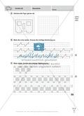 Basale geometrische Übungen mit Aufgaben zum Nachzeichnen Preview 2