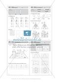 Basale geometrische Übungen mit Aufgaben zum Nachzeichnen Preview 8