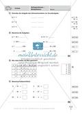 Mathefahrschule: Zahlenoperationen bis 1000 - Multiplikation Preview 3