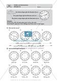 Die Uhrzeit lesen und Umrechnen von Zeitangaben Preview 1