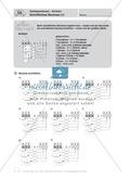 Mathematik, Grundrechenarten, Zahlen & Operationen, Division, schriftliches Rechnen, Zahloperationen, arbeitsblätter