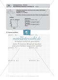 Mathematik, Grundrechenarten, Zahlen & Operationen, Division, Zahloperationen, schriftliches Rechnen, arbeitsblätter