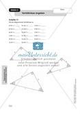 Aufgaben zur Trigonometrie: Verhältnisse im rechtwinkligen Dreieck Preview 3