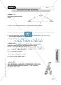 Aufgaben zur Trigonometrie: Verhältnisse im rechtwinkligen Dreieck Preview 8