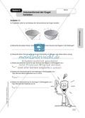 Mathematik, Geometrie, Raum & Form, Körperberechnung, Kugel, herleitung, Volumen