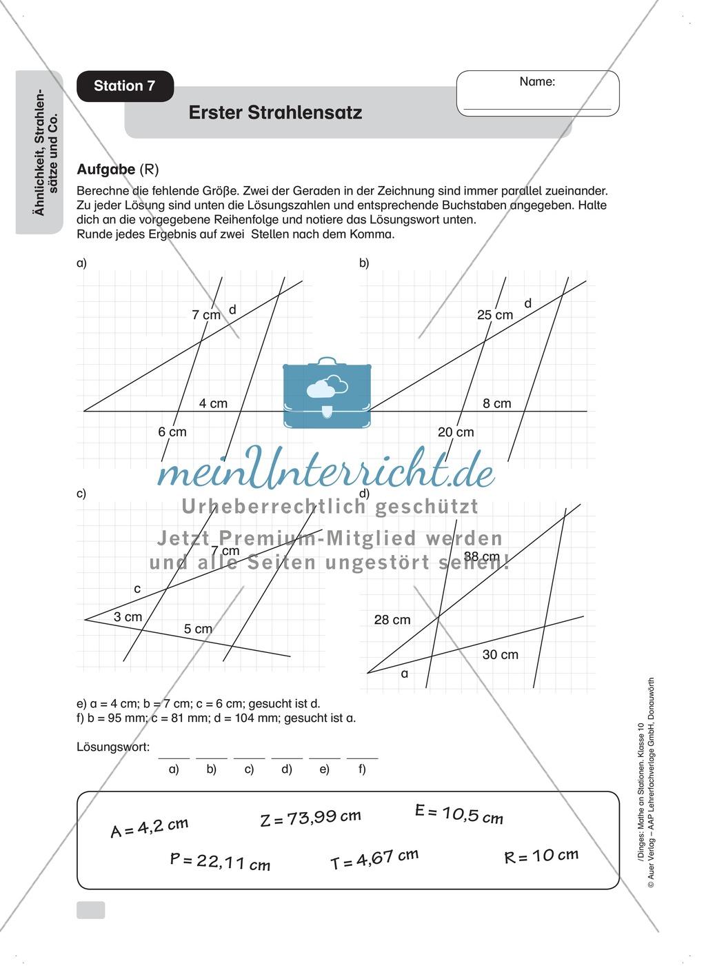 Ausgezeichnet Mathe Arbeitsblatt Verhältnisse Ideen - Mathe ...