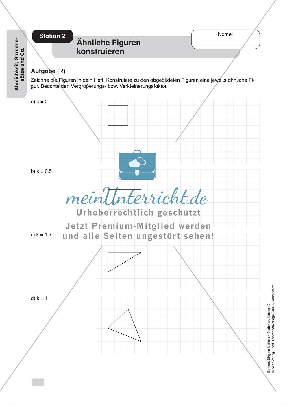 Beautiful ähnliche Formen Arbeitsblatt Gift - Mathe Arbeitsblatt ...