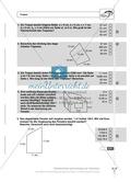 Flächeninhalt und Umfang von Trapezen, Drachen und Dreiecken. Enthält Schnelltest und Lösungen. Preview 4