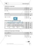 Einfache und geklammerte ganze und rationale Terme und Gleichungen. Enthält einen Schnelltest und Lösungen. Preview 2