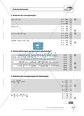 Einfache und geklammerte ganze und rationale Terme und Gleichungen. Enthält einen Schnelltest und Lösungen. Preview 3