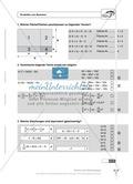 Einfache und geklammerte ganze und rationale Terme und Gleichungen. Enthält einen Schnelltest und Lösungen. Preview 7