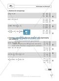 Einfache und geklammerte ganze und rationale Terme und Gleichungen. Enthält einen Schnelltest und Lösungen. Preview 8