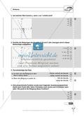 Lineare Funktionen: Steigung, Gleichung und Graph von linearen Funktionen. Enthält Schnelltest und Lösungen. Preview 2
