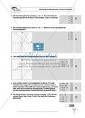 Lineare Funktionen: Steigung, Gleichung und Graph von linearen Funktionen. Enthält Schnelltest und Lösungen. Preview 3