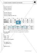 Prozentrechnung: Grundlagen und Dreisatz - Infotexte + Aufgaben + Lösungen Preview 4