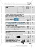 Das Volumen von Würfeln und Quadern - Aufgaben mit Selbstkontrolle Preview 2