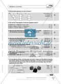 Die Oberfläche und das Volumen von Prismen - Aufgaben mit Selbstkontrolle Preview 2