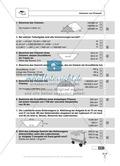 Die Oberfläche und das Volumen von Prismen - Aufgaben mit Selbstkontrolle Preview 3