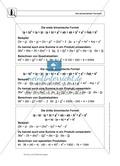 Die binomischen Formeln Preview 1