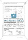 Gemischte Aufgaben zu linearen Gleichungen Preview 1