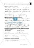 Gemischte Aufgaben zu linearen Gleichungen Preview 3