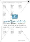 Gemischte Aufgaben zu linearen Gleichungen Preview 4