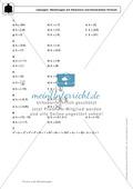 Gemischte Aufgaben zu linearen Gleichungen Preview 5