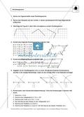 Geometrie: Eigenschaften und Konstruktion von Parallelogrammen - Infotext + Aufgaben + Lösungen Preview 2