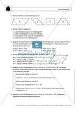 Geometrie: Eigenschaften und Konstruktion von Parallelogrammen - Infotext + Aufgaben + Lösungen Preview 3