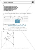 Geometrie: Eigenschaften und Konstruktion von Parallelogrammen - Infotext + Aufgaben + Lösungen Preview 4