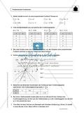 Funktionen: Eigenschaften und Steigung von proportionalen Funktionen - Infotexte + Aufgaben + Lösungen Preview 3