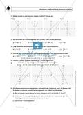 Funktionen: Steigung von linearen Funktionen - Infotext + Aufgaben + Lösungen Preview 2