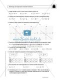 Funktionen: Steigung von linearen Funktionen - Infotext + Aufgaben + Lösungen Preview 3