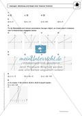 Funktionen: Steigung von linearen Funktionen - Infotext + Aufgaben + Lösungen Preview 4