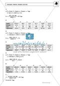Zinsrechnung: Monatszinsen und Tageszinsen - Infotext + Beispiele + differenzierte Aufgaben + Lösungen Preview 11