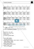 Zinsrechnung: Monatszinsen und Tageszinsen - Infotext + Beispiele + differenzierte Aufgaben + Lösungen Preview 7